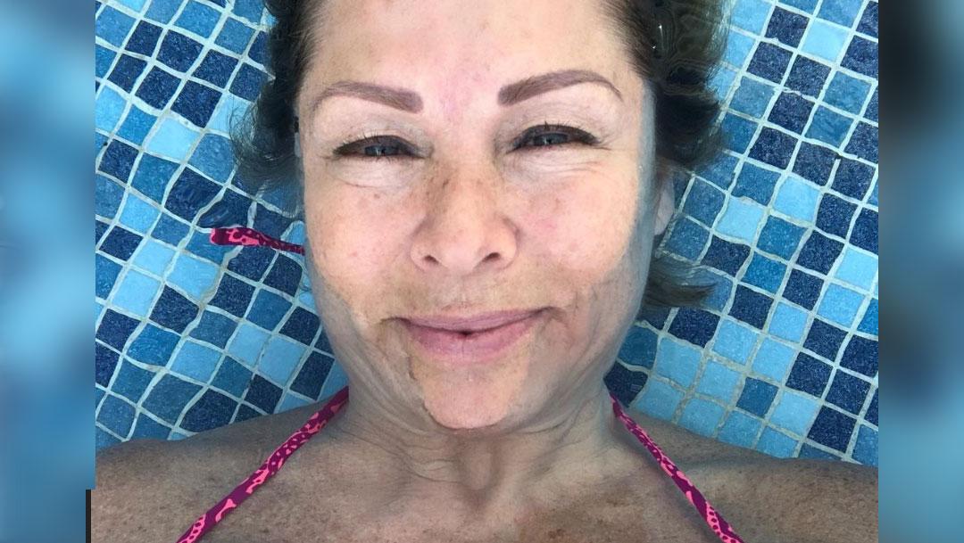 Leticia Calderón ya está en su casa tras haber sido hospitalizada por complicaciones con el COVID-19, Captura de Pantalla