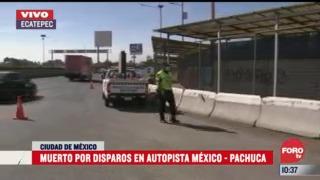 matan a hombre en intento de asalto en la mexico pachuca
