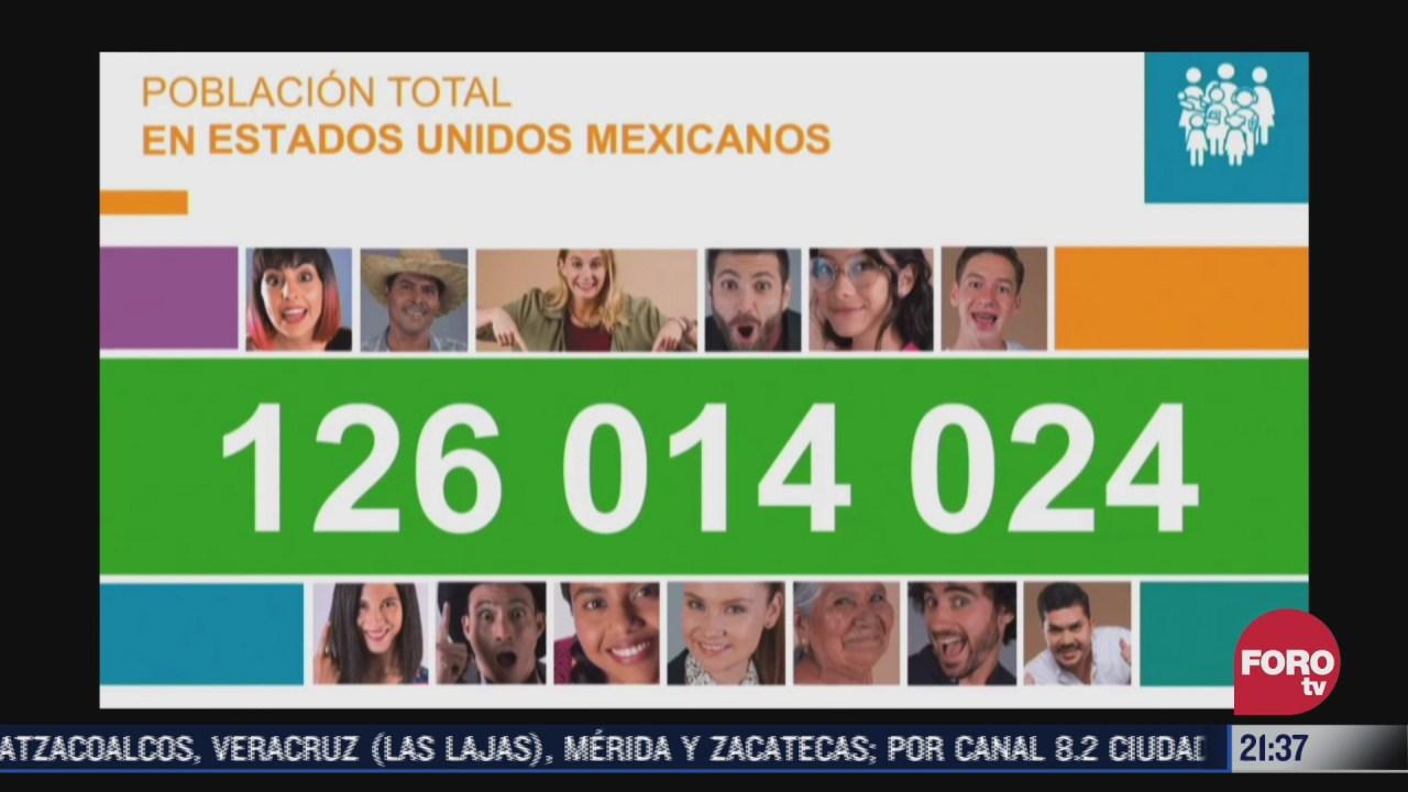 mexico registra mas de 125 millones de habitantes en censo de