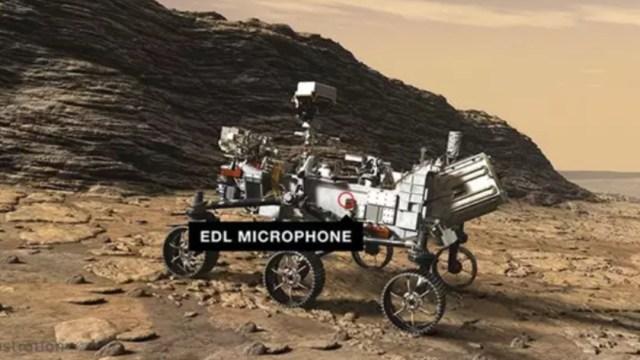 NASA recrea cómo serían los sonidos de Marte