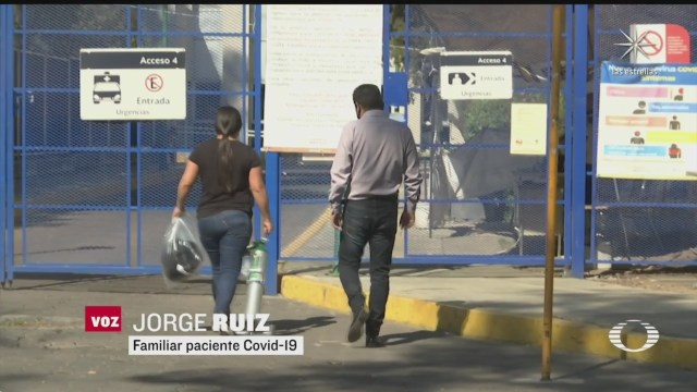 pacientes covid peregrinan por hospitales y esperan en urgencias por un lugar