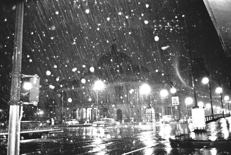 Fotos y video: Así fue la última gran nevada de la CDMX