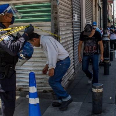 Pequeños comercios del Centro Histórico de CDMX podrán reabrir con restricciones