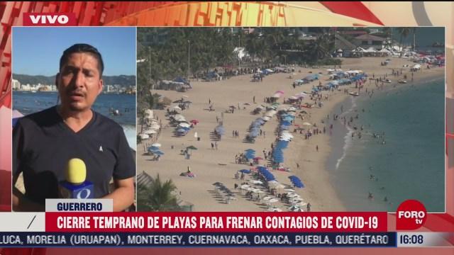 playas de acapulco a tope tras cierre en ano nuevo