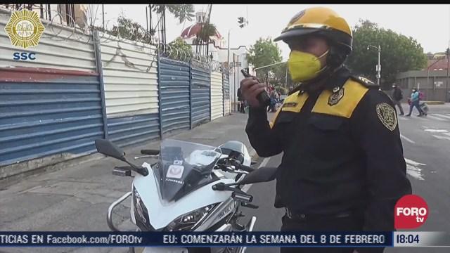 policia de cdmx devuelve 30 mil pesos extraviados