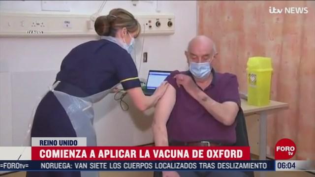 reino unido aplica por primera vez la vacuna contra covid