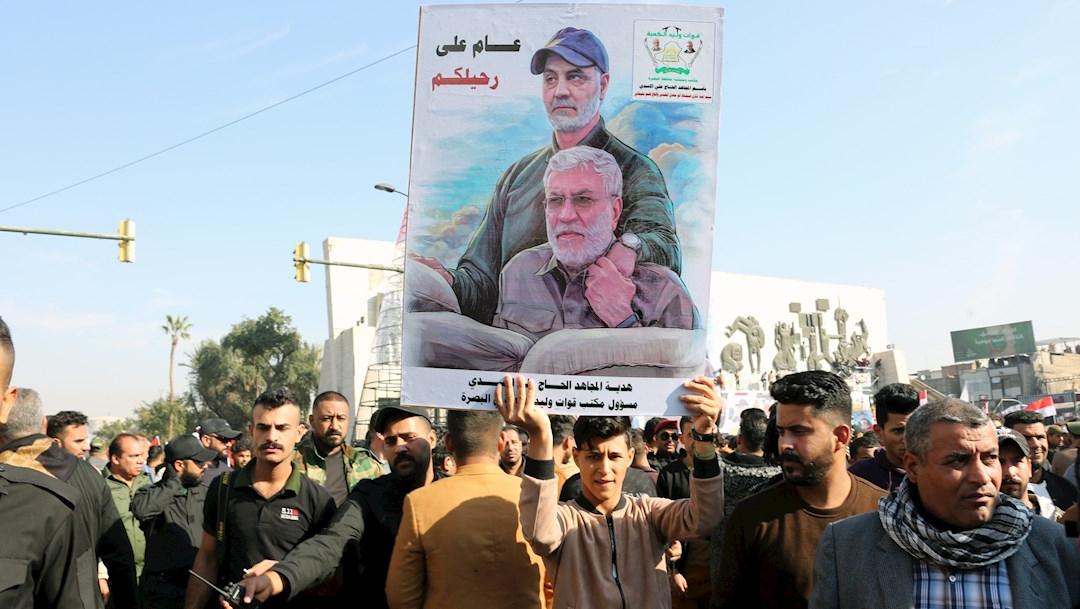 Miles de iraquíes recuerdan a Soleimaní, asesinado por tropas estadounidenses