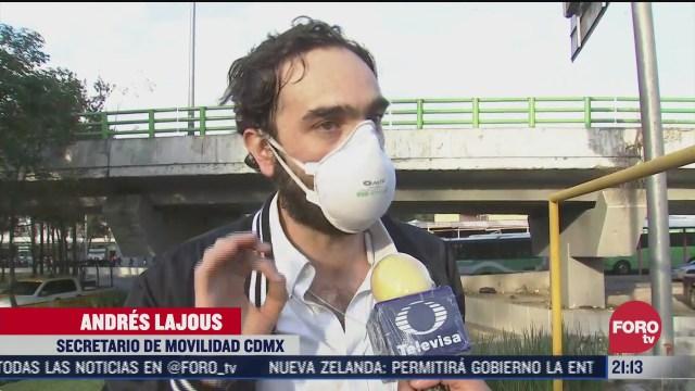 tercer dia de operativo de movilidad tras incendio en metro cdmx