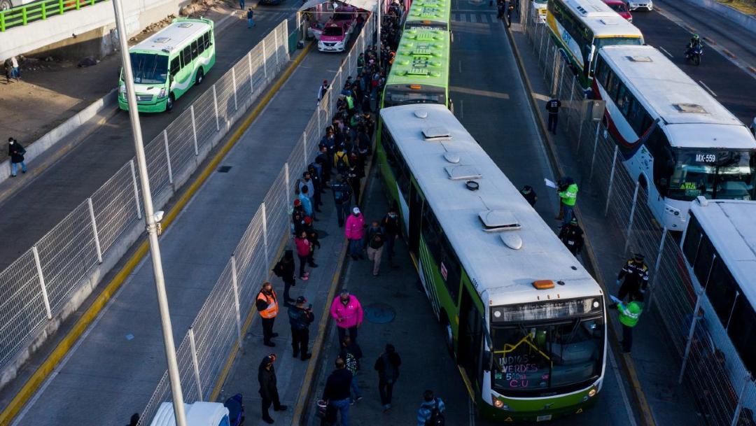 Turibús se suma al traslado de pasajeros del Metro CDMX por cierre de Líneas