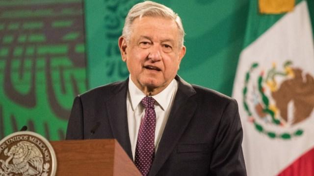 El presidente Andrés Manuel López Obrador, en la conferencia de prensa matutina. (Foto: Cuartoscuro)