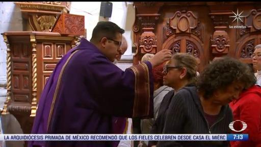 arquidiocesis recomienda celebrar en casa el miercoles de ceniza