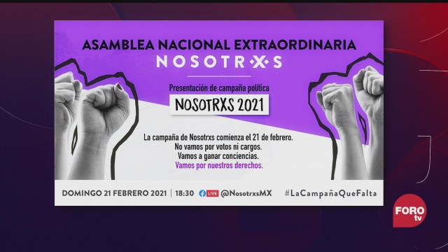 asamblea nacional extraordinaria del colectivo nosotrxs