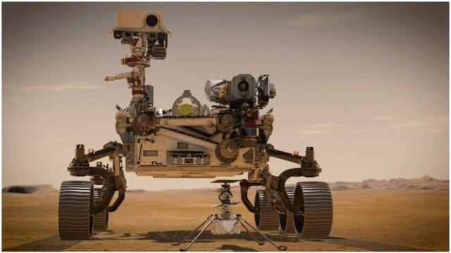 Aterrizaje Marte