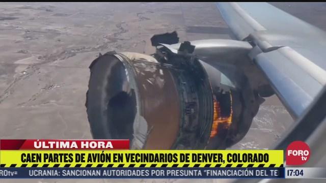caen partes de avion en vecindarios de denver colorado