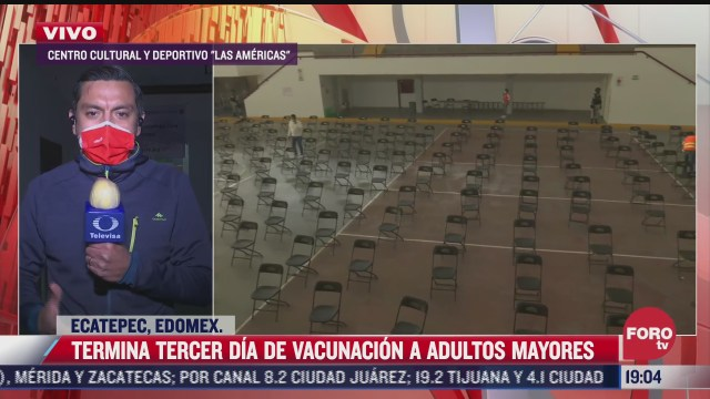 concluye tercer dia de vacunacion contra covid 19 en ecatepec