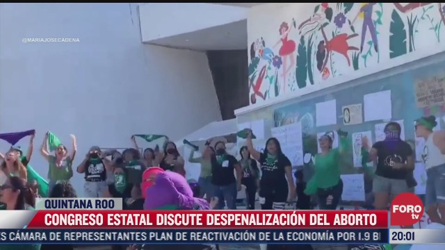 congreso de quintana roo discute despenalizacion del aborto