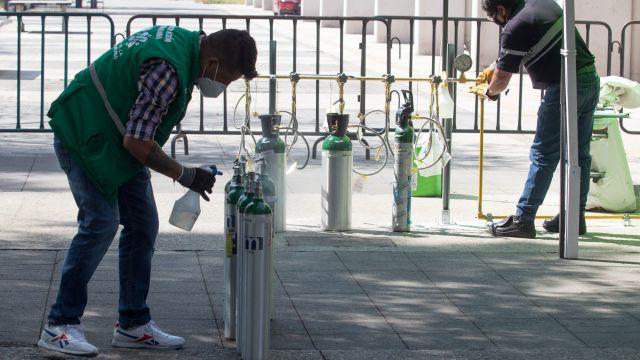 Hasta 4 años de prisión para robo de tanques de oxígeno