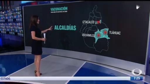 donde se localizaran las macro unidades de vacunacion en iztacalco tlahuac y xochimilco