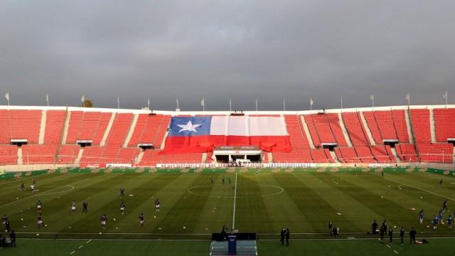 Estadio de futbol en Chile (Getty Images, archivo)