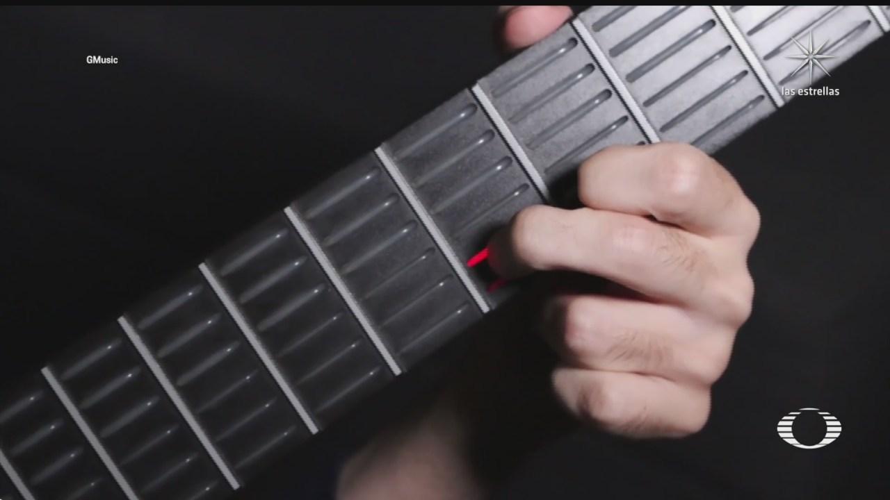 galactica la guitarra que ayuda a tocar a personas con enfermedades neuromusculares