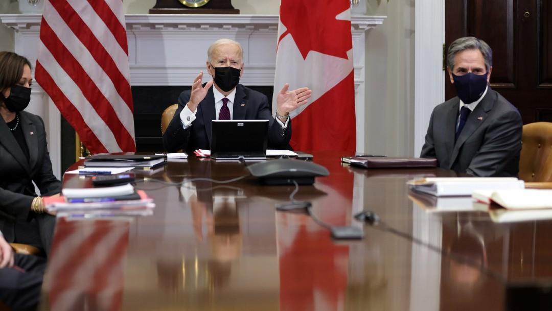 """Gobierno de Joe Biden tiene """"muchos deseos"""" de una fuerte relación con México, dijo Antony Blinken, dijo Antony Blinken"""