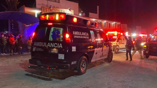 Desalojan pacientes COVID-19 de hospital en Ixmiquilpan, Hidalgo, (Twitter: @JaquiServin)