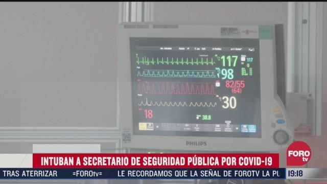 hospitalizan a secretario de seguridad publica de splp por covid