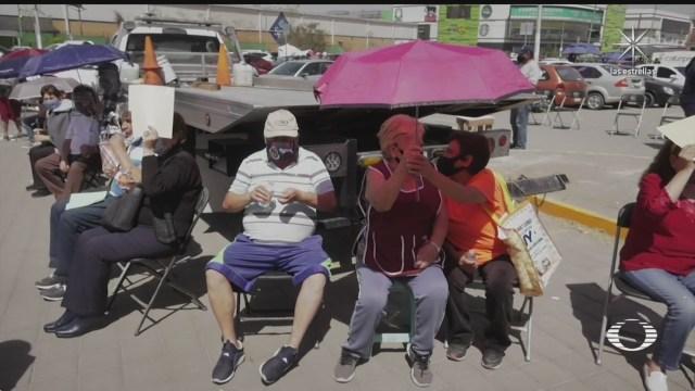 mejora logistica de vacunacion en ecatepec pero siguen puntos sin abrir