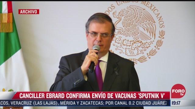mexico recibira primeras 200 mil dosis de la vacuna sputnik v
