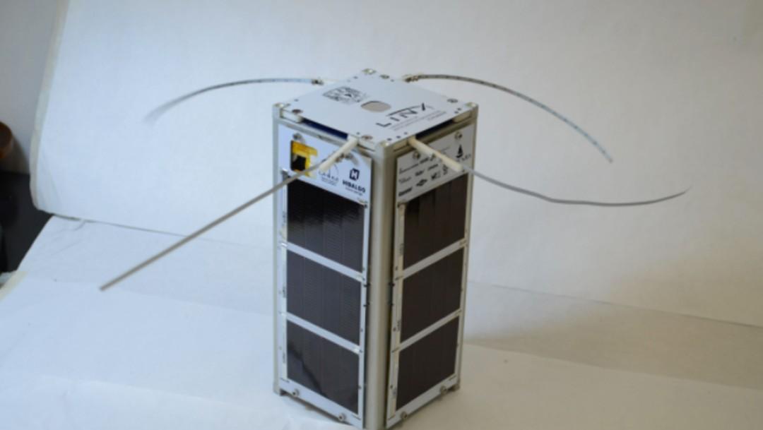 El nanosatélite mexicano NannoConnect-2 (UNAM)