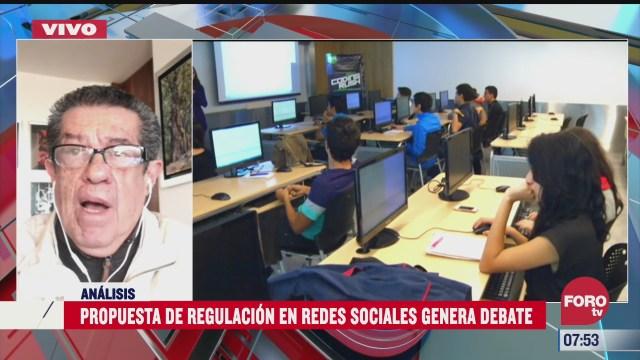 propuesta de regulacion en redes sociales genera debate