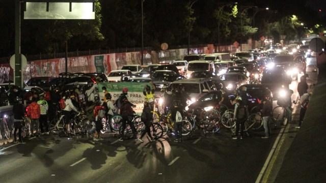 Se cumplen 22 semanas consecutivas de protestas ciclistas en CDMX