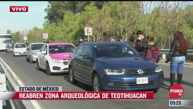 reabre zona arqueologica de teotihuacan