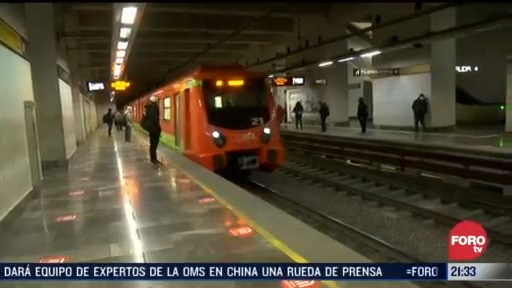reinicia operaciones la linea 2 del metro tras 30 dias sin operacion