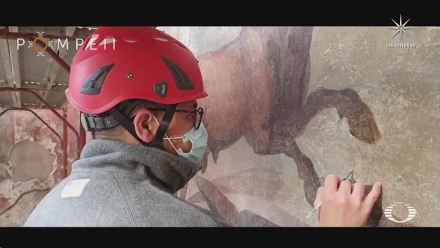 restauran fresco en pompeya
