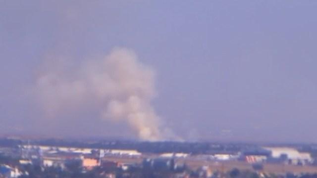 Se registran incendios forestales en el Ajusco y cerca del AICM