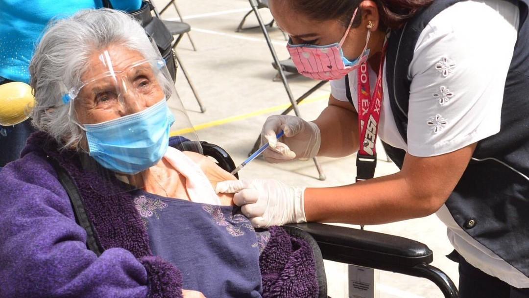 Segunda jornada de vacunación contra COVID en Ecatepec