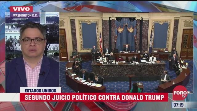 segundo juicio politico contra donald trump