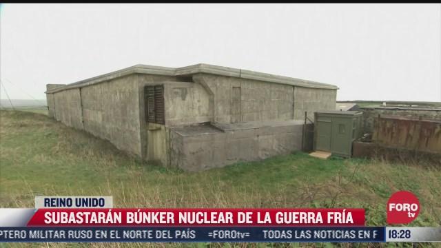 subastaran bunker nuclear de la guerra fria