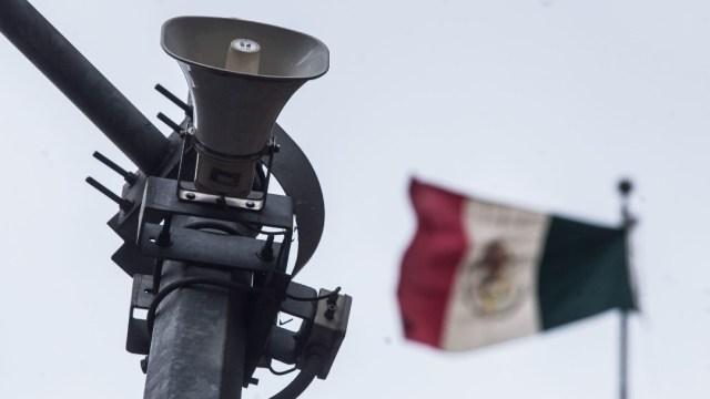 Se activa la alerta sísmica en los altavoces de algunas alcaldías de la Ciudad de México