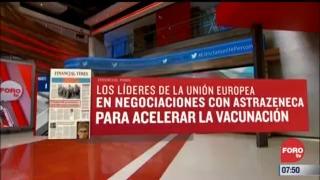analisis de las portadas nacionales e internacionales del 1 de marzo del