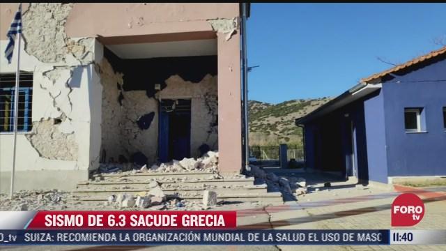 asi se fue el fuerte sismo que sacudio a grecia