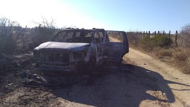 Autoridades hallaron cuerpos calcinados el 23 de enero en una camioneta en Camargo, Tamaulipas (Cuartoscuro)