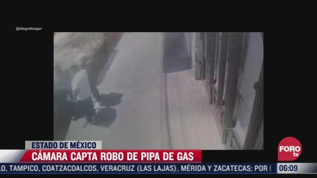 camara capta robo a conductor de pipa de gas en naucalpan edomex