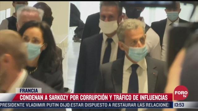 condenan a nicolas sarkozy por corrupcion y trafico de influencia