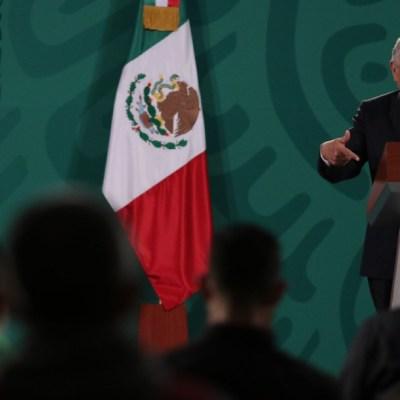 El presidente de México, Andrés Manuel López Obrador, durante la conferencia de prensa matutina