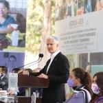 El gobernador del Estado de México, Alfredo Del Mazo Maza, anuncia nuevas acciones en favor de las mujeres (Gobierno del estado de México)