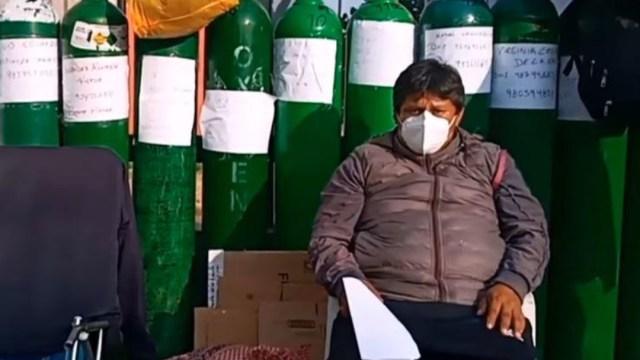 Empeñan su casa para comprar oxígeno a su madre con COVID-19