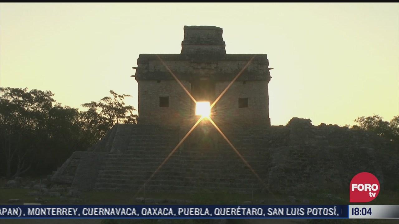equinoccio de primavera en centros ceremoniales y ruinas arqueologicas en yucatan