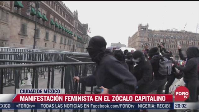 feministas protestan en palacio nacional contra salgado macedonio